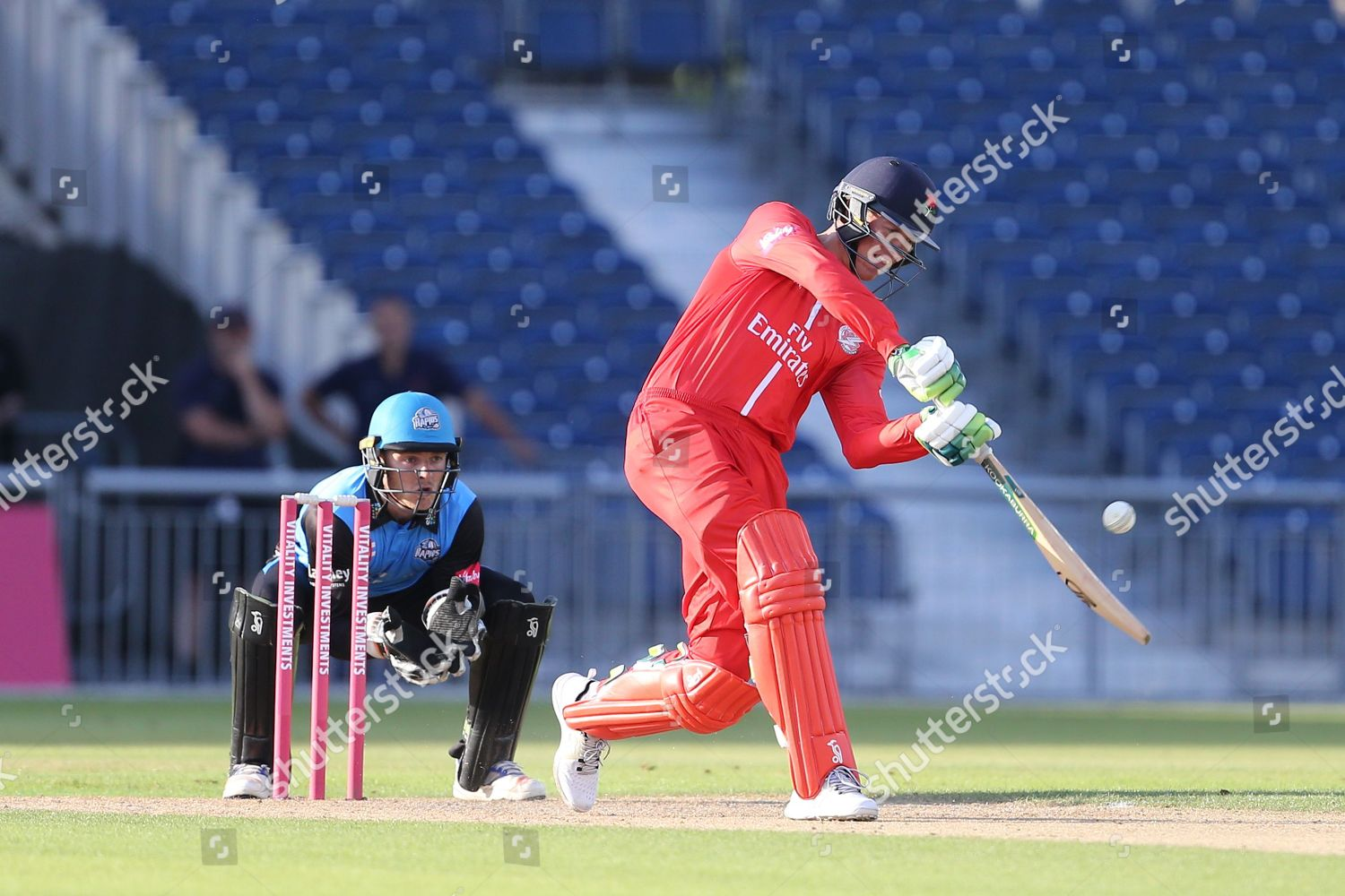 Keaton Jennings during Natwest T20 Blast North Editorial Stock Photo
