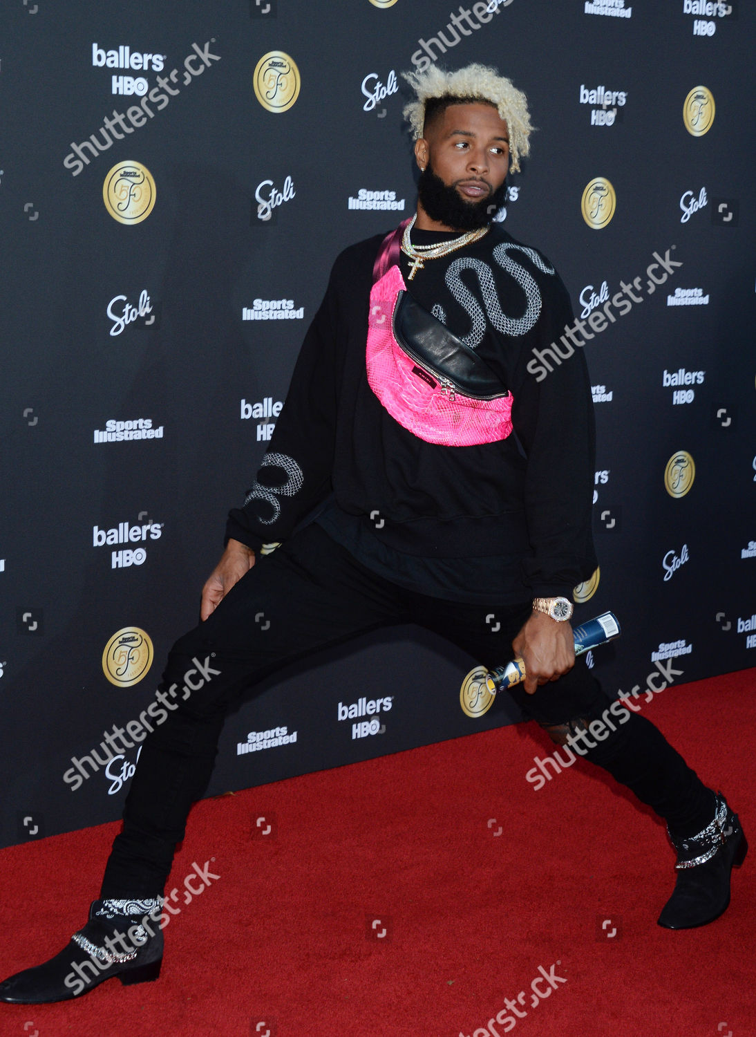 2b8c0e530b Odell Beckham Jr Editorial Stock Photo - Stock Image
