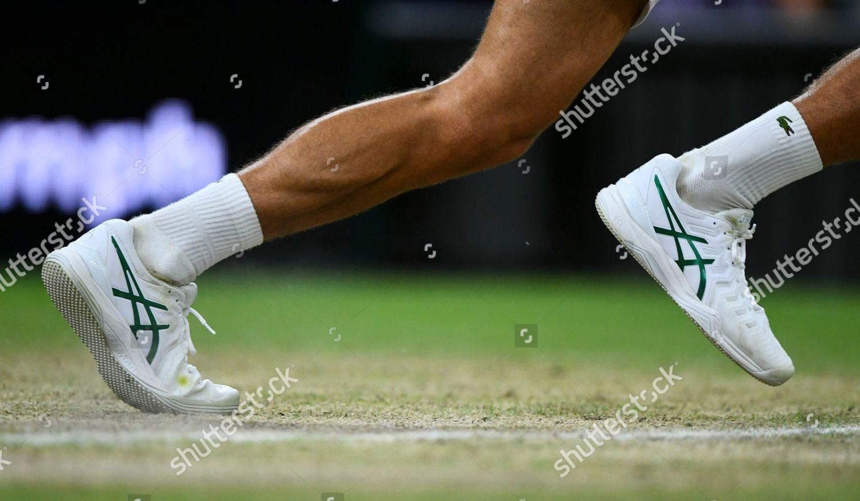 Shoes Novak Djokovic During His Gentlemens Singles Editorial Stock Photo Stock Image Shutterstock
