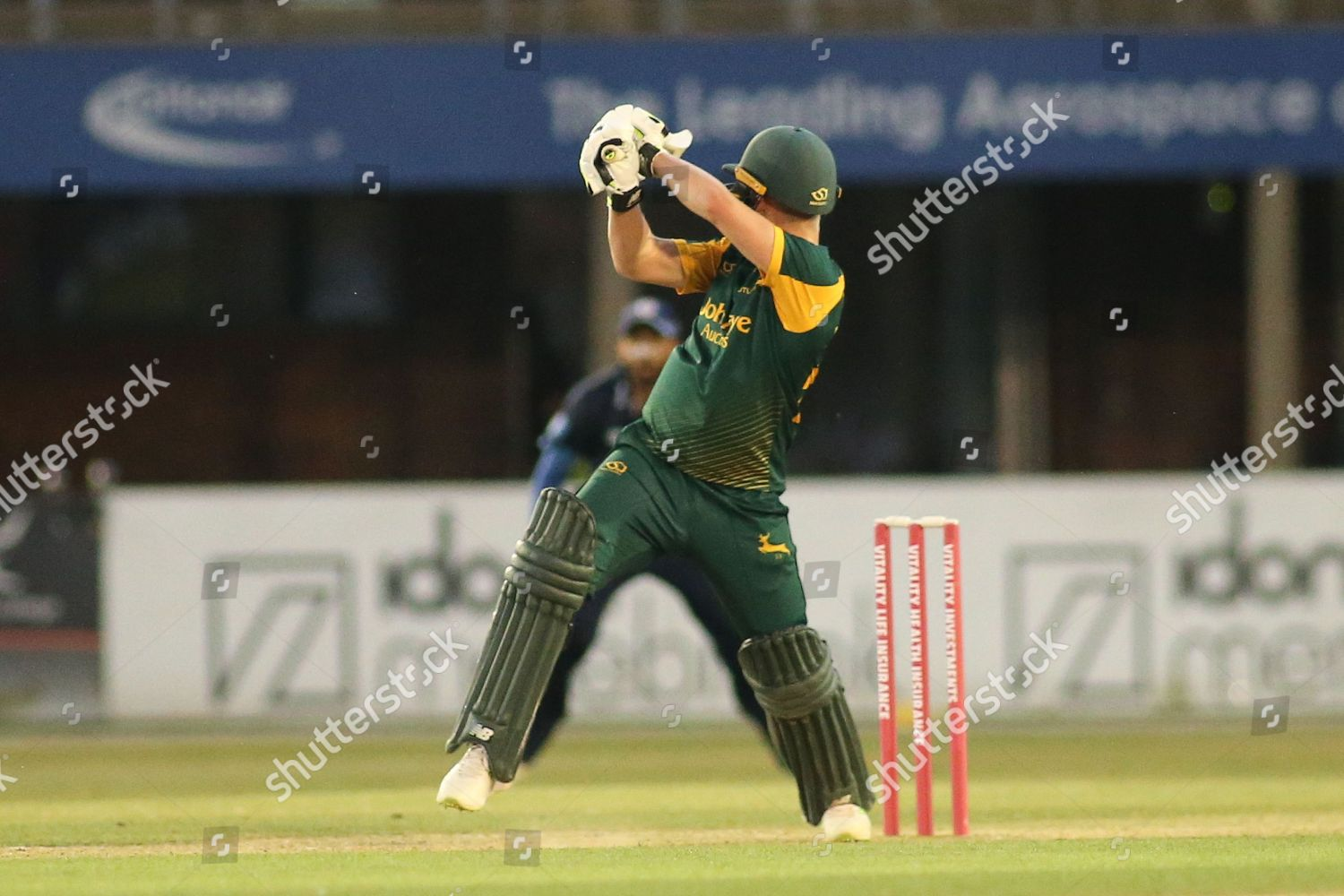 Tom Moores Nottinghamshire during Natwest T20 Blast Editorial Stock