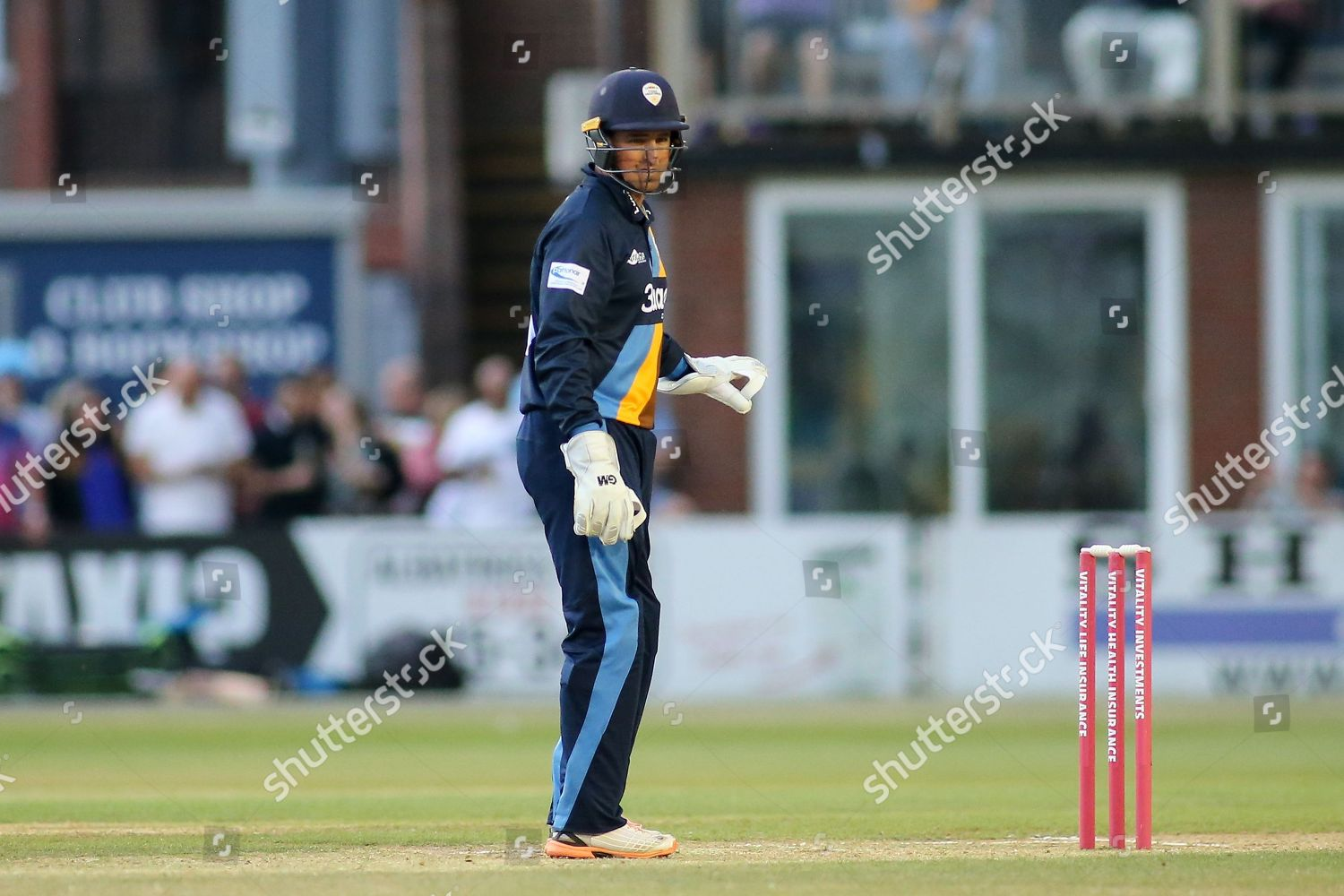 Daryn Smit Derbyshire Falcons during Natwest T20 Editorial