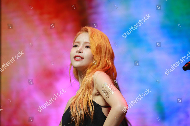 Solar South Korean girl group MAMAMOO Editorial Stock Photo - Stock