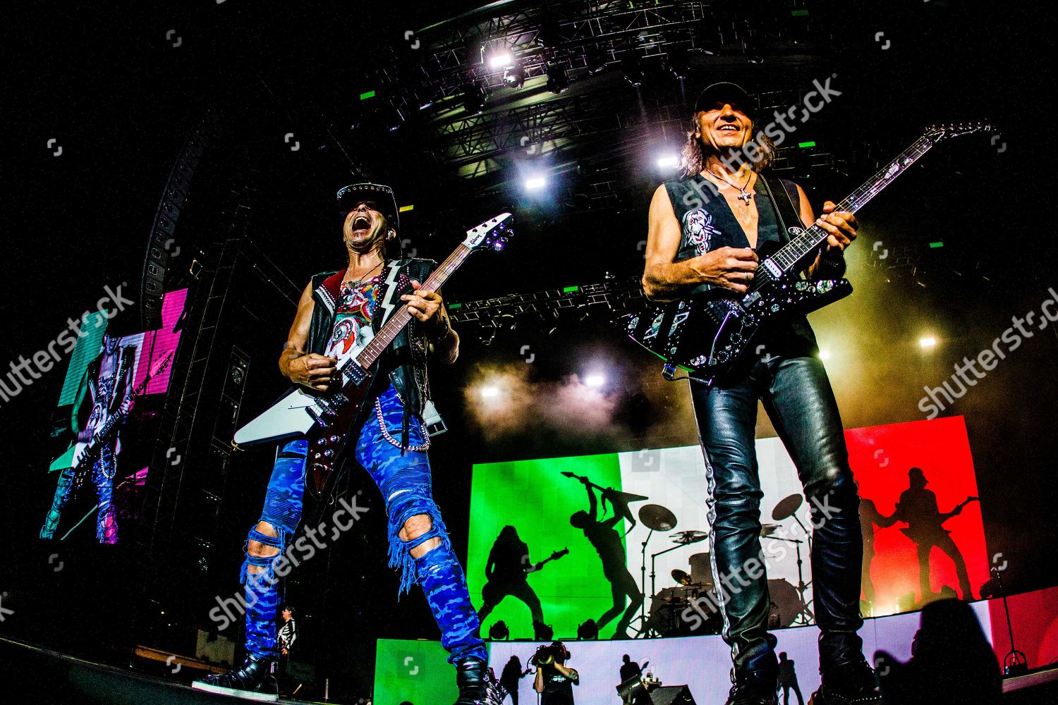 German rock band formed 1965 Scorpions performs Editorial