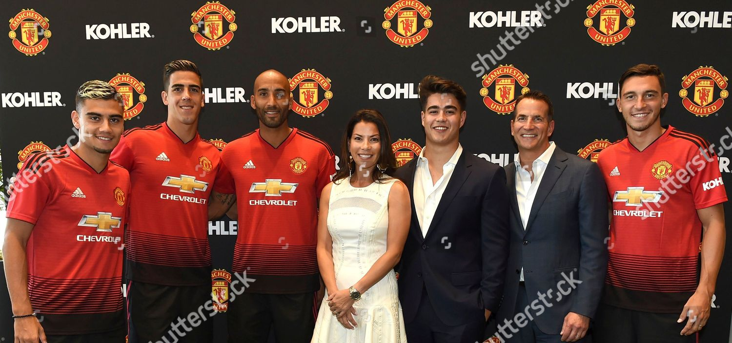 Manchester United Players Left Andreas Perreira Joel Editorial Stock Photo Stock Image Shutterstock