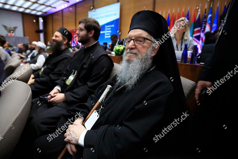 Archbishop Demetrios America right Greek Orthodox