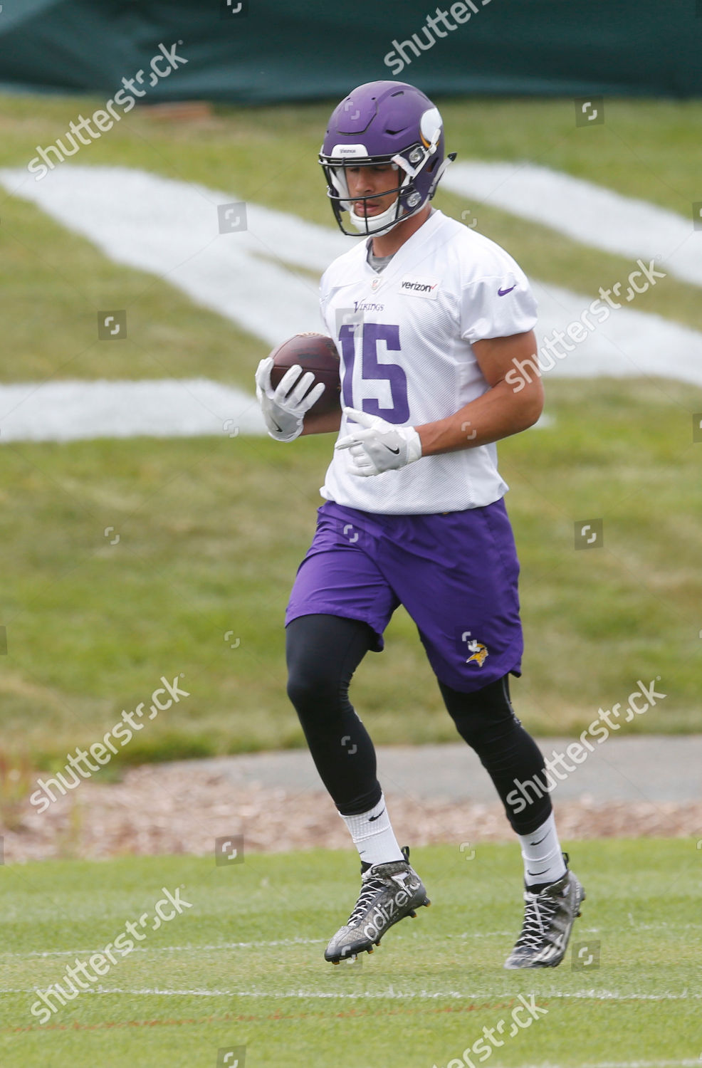 huge discount 3383a e381c Minnesota Vikings wide receiver Brandon Zylstra carries ...