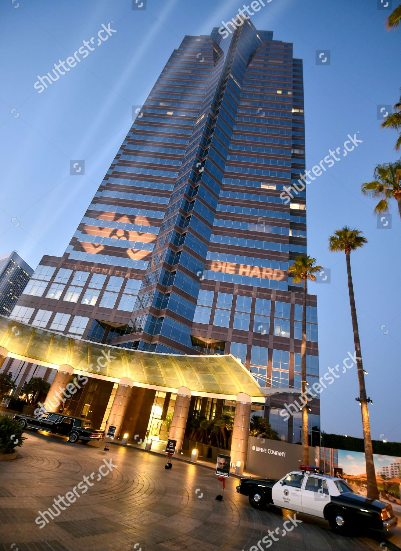 Die Hard 30th Anniversary screening Nakatomi Plaza Editorial Stock ...