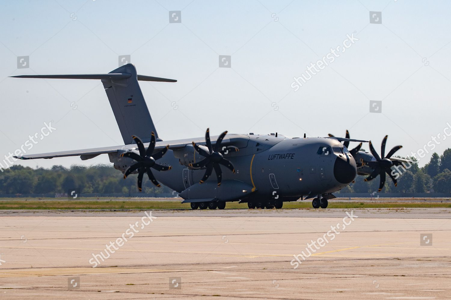 Airbus A400M transport aircraft German Air Forces Editorial Stock