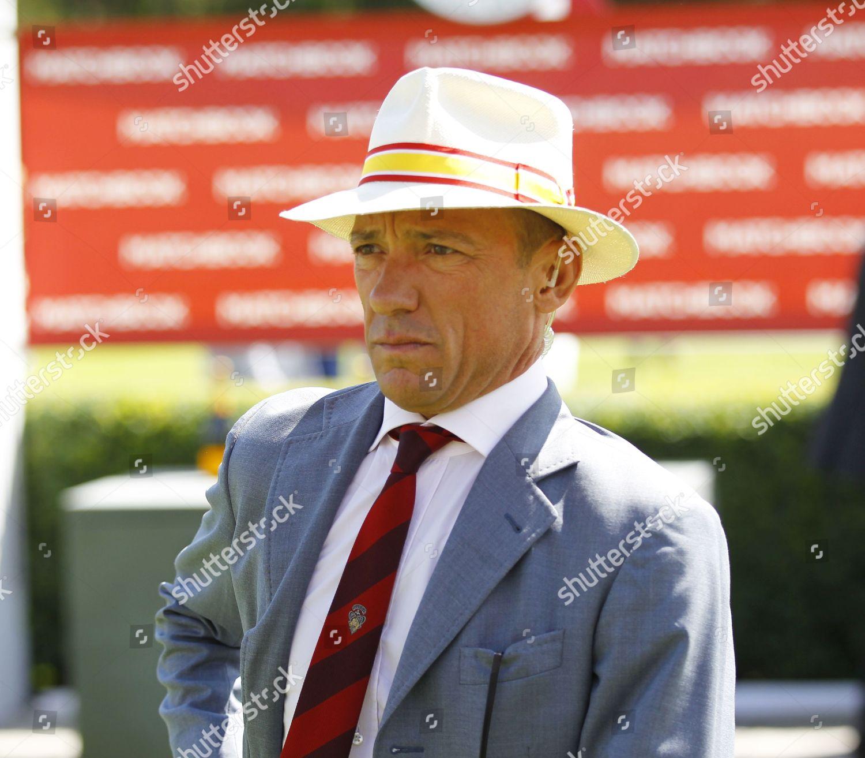 2e345d788 Frankie Dettori Panama Hat Goodwood Editorial Stock Photo - Stock ...