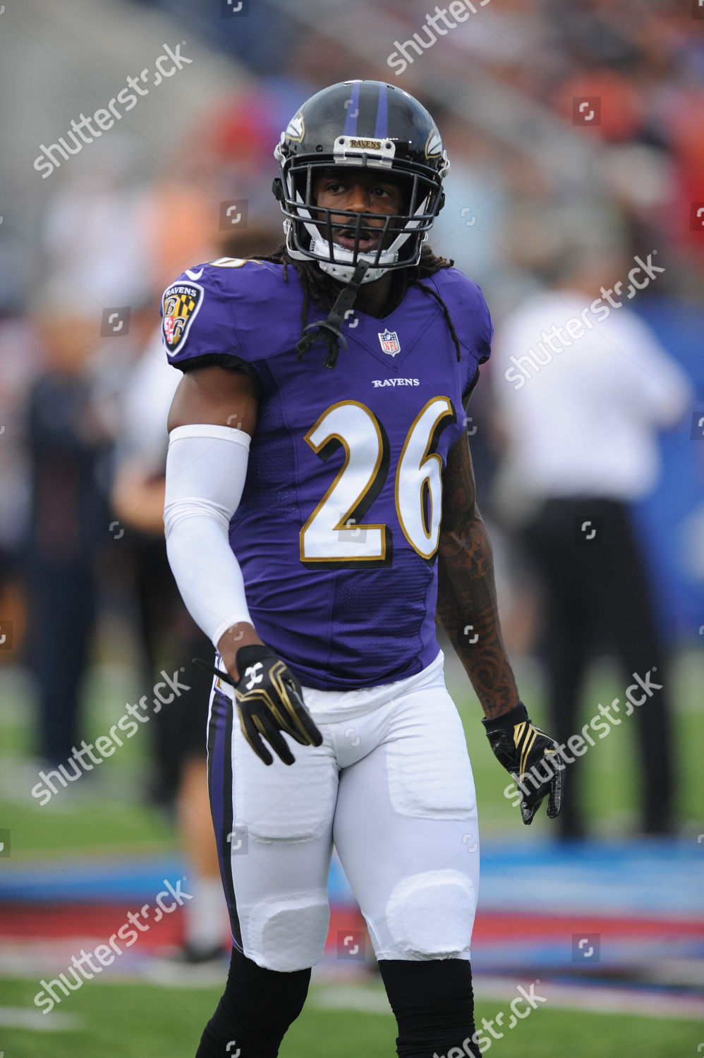 new arrival 2f230 8b56a nd Ravens 26 Maurice Canady during Chicago Editorial Stock ...