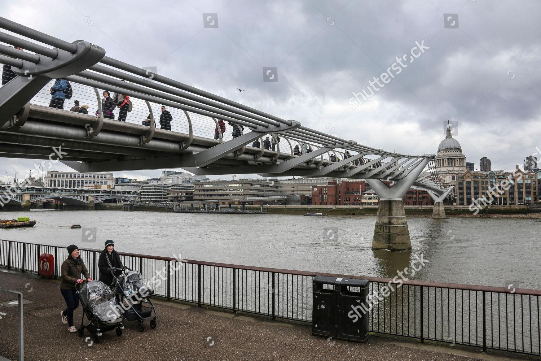 millennium bridge london uk shutterstock editorial 9779547a