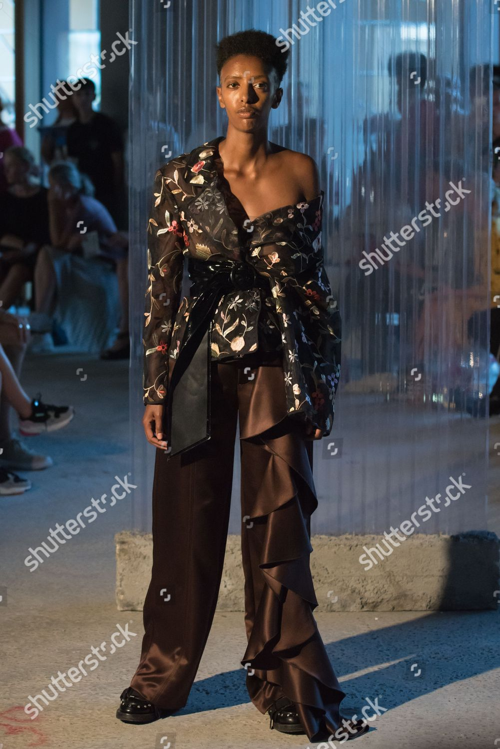 Model On Catwalk Editorial Stock Photo Stock Image Shutterstock