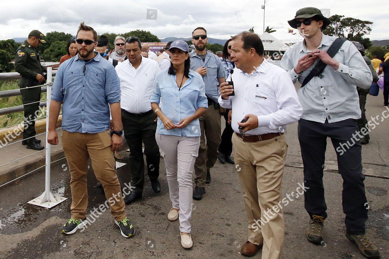 US Ambassador UN Nikki Haley visits border Editorial Stock