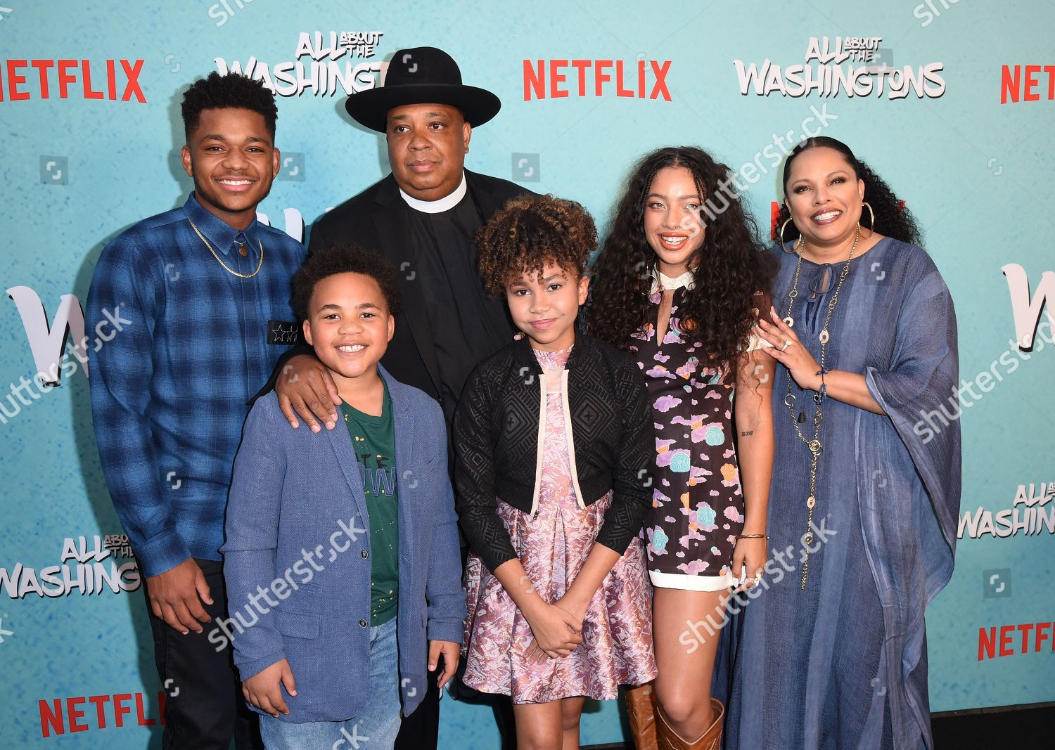 Stock photo of 'All About The Washingtons' TV show premiere, Los Angeles, USA - 08 Aug 2018