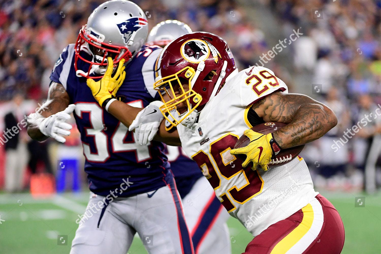 Washington Redskins running back Derrius Guice 29 Stock Photo ... 83cf16f63