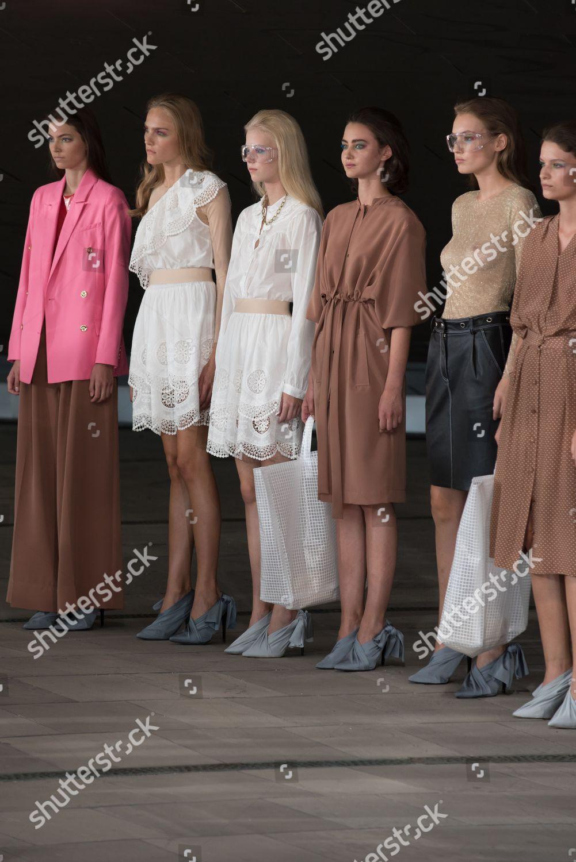 Models On Catwalk Editorial Stock Photo Stock Image Shutterstock