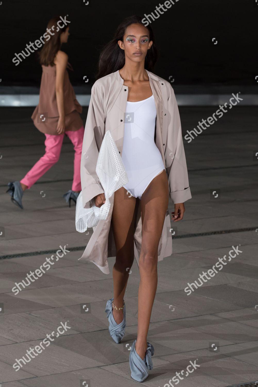 Model On Catwalk Editorial Stock Photo Stock Image Shutterstock