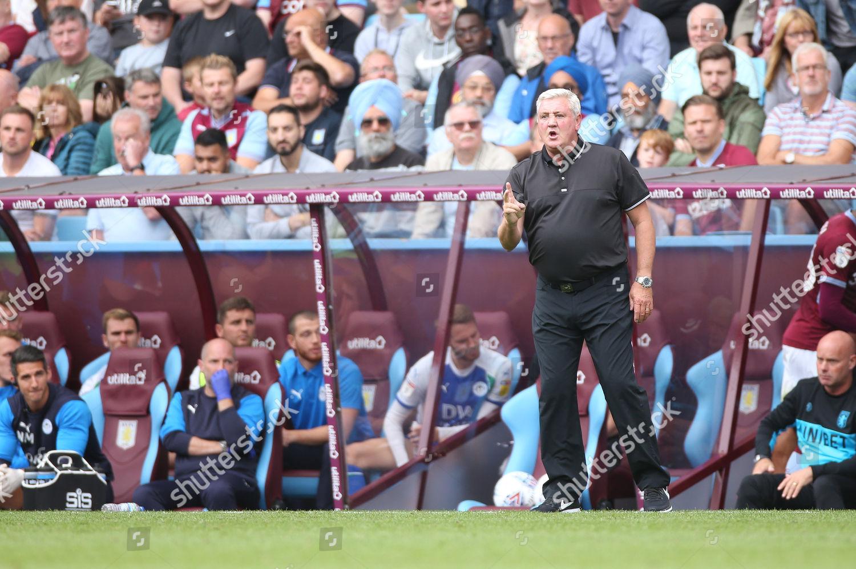 Aston Vills Manager Steve Bruce during Aston Editorial Stock