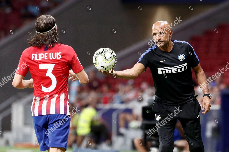 Inter Milans Head Coach Luciano Spalletti R Editorial Stock Photo
