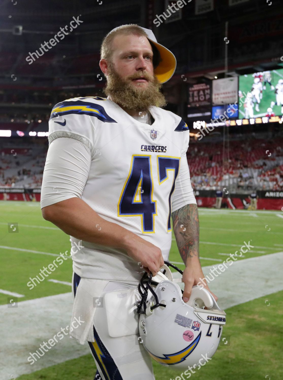 check out c9166 da07a Los Angeles Chargers long snapper Mike Windt Editorial Stock ...