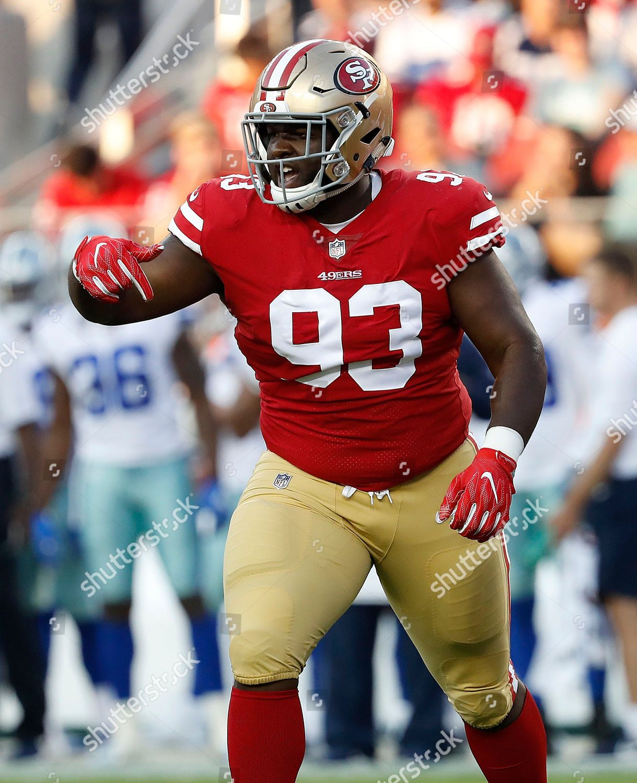 new arrival b8434 b64cd San Francisco 49ers defensive tackle DJ Jones Editorial ...