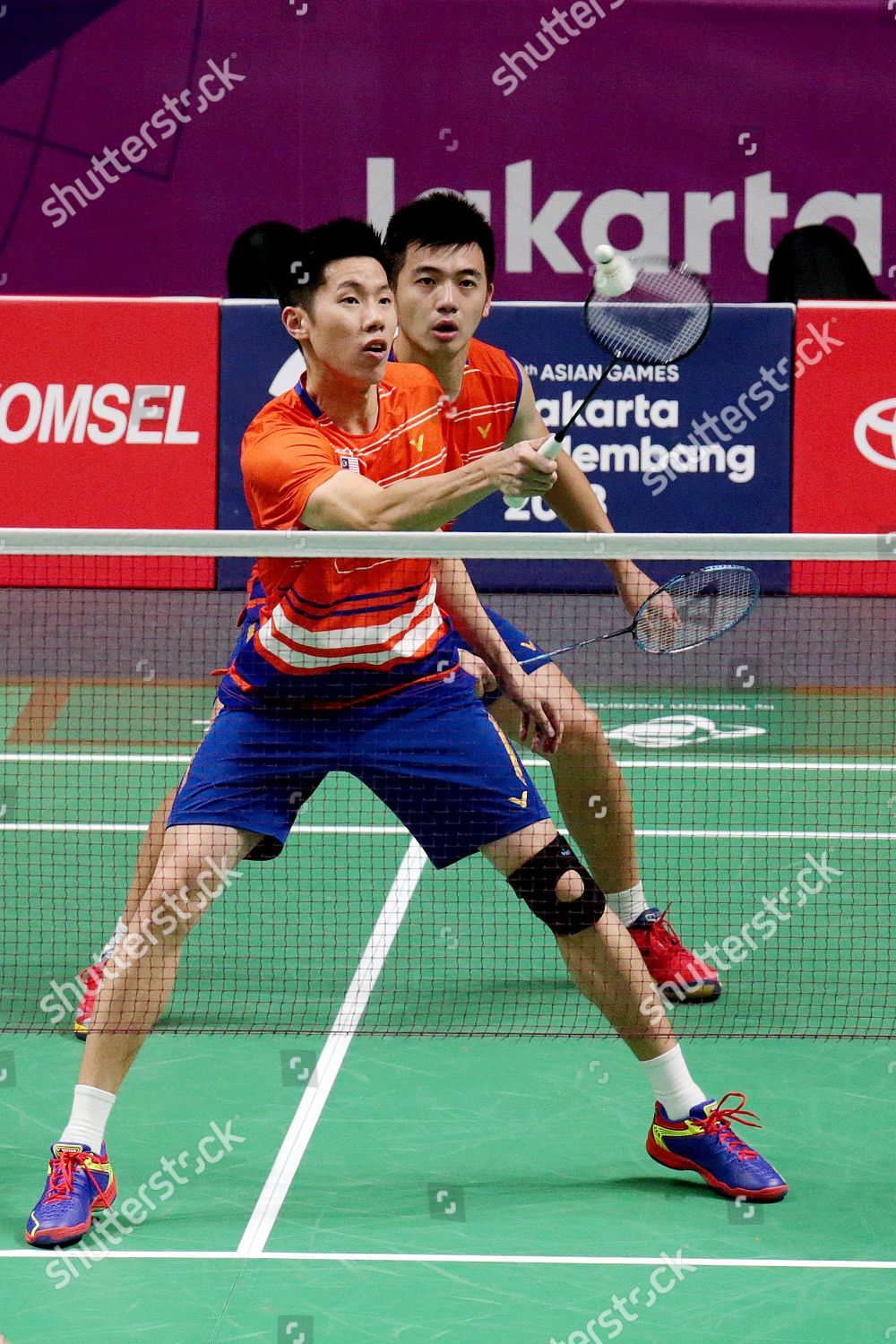 Malaysias Goh Wei Shern Front Tan Wee Editorial Stock Photo Stock