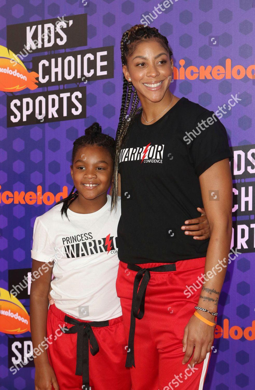 eb17eddf889 WNBA basketball player Candace Parker Los Angeles Editorial Stock ...