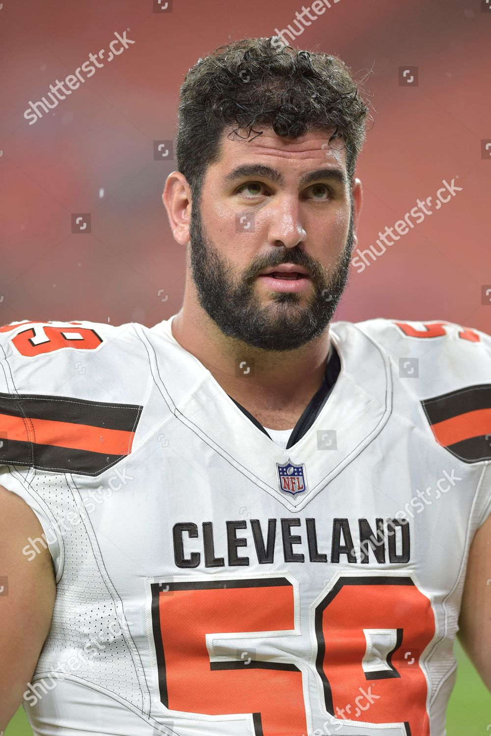 newest 13714 9ca99 Cleveland Browns center Anthony Fabiano 59 walks Editorial ...