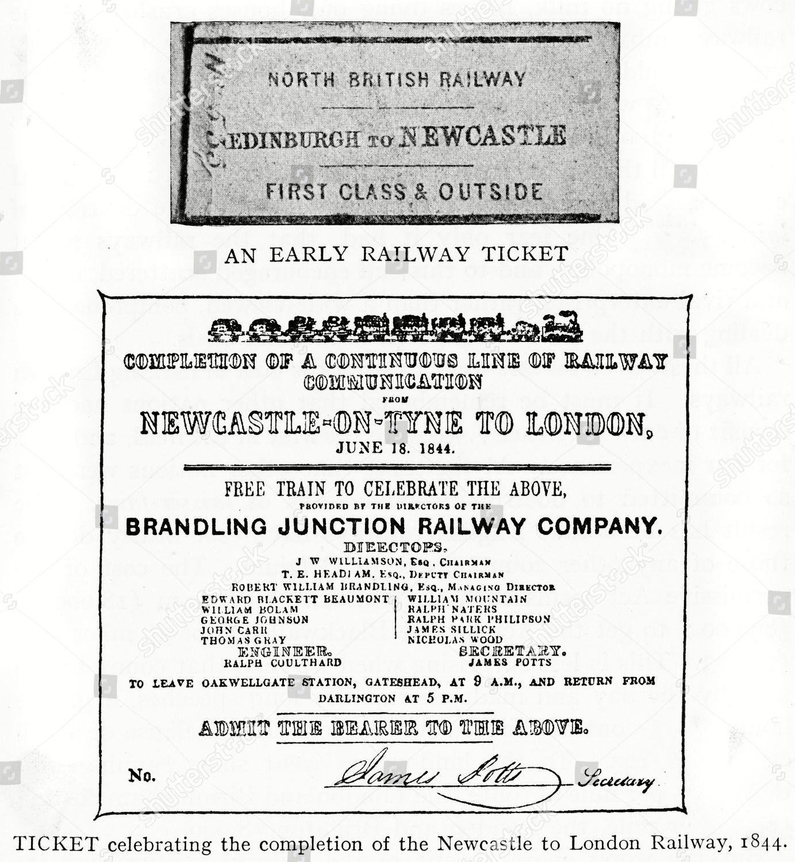 One Edinburgh Newcastle Courtesy North British Railway Editorial
