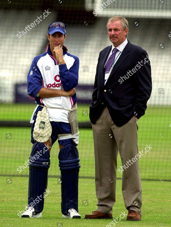 England Cricket Captain Michael Vaughan Chairman Selectors