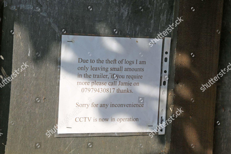 Farmer Robert Bradshaw Has Put Cctv Cameras Editorial Stock