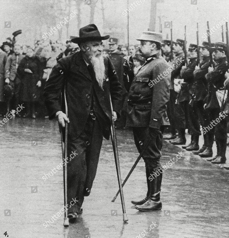 Garibaldis Son General Ricciotti Garibaldi 1847 1924 Redaktionelles Stockfoto Stockbild Shutterstock