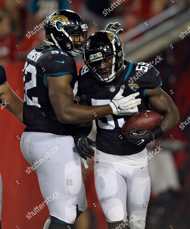super popular fe0cf 0a57e Jacksonville Jaguars defensive end Carroll Phillips 59 ...