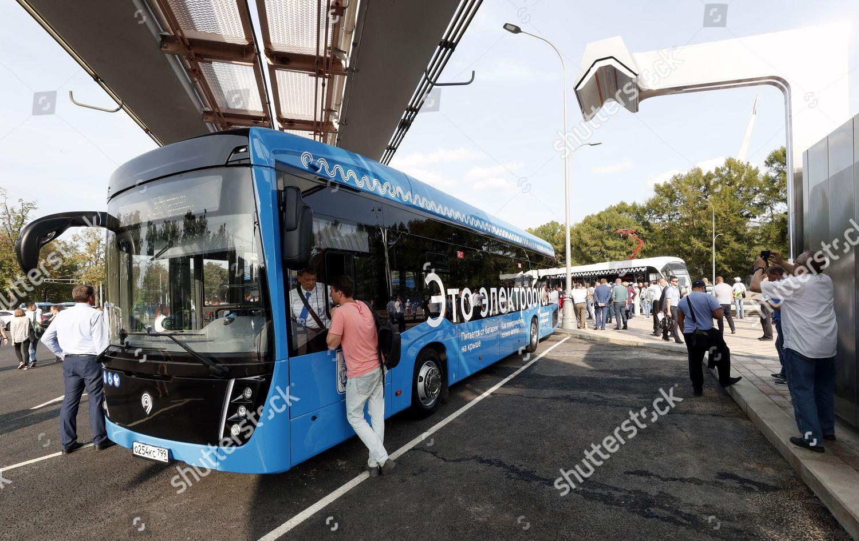 How do electric buses KAMAZ