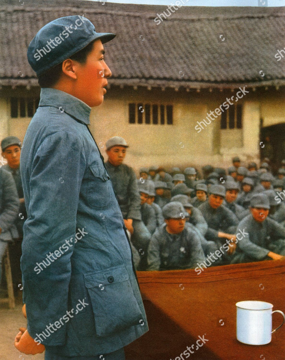 99bdf5338ef Mao Zedong - Founding Father of People s Republic of China Stock Image by  Historia for editorial use