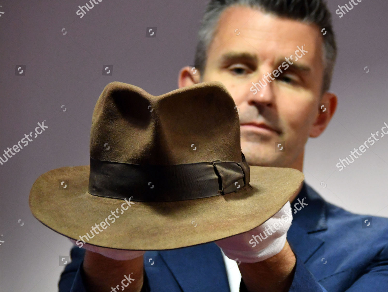 387a131cdb2c1 Harrison Fords Indiana Jones Signature Fedora hat Editorial Stock ...
