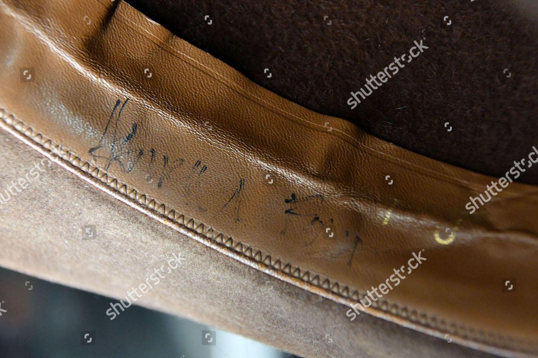 3a68e89d7f3a1 Harrison Fords Indiana Jones Signature Fedora hat Editorial Stock ...