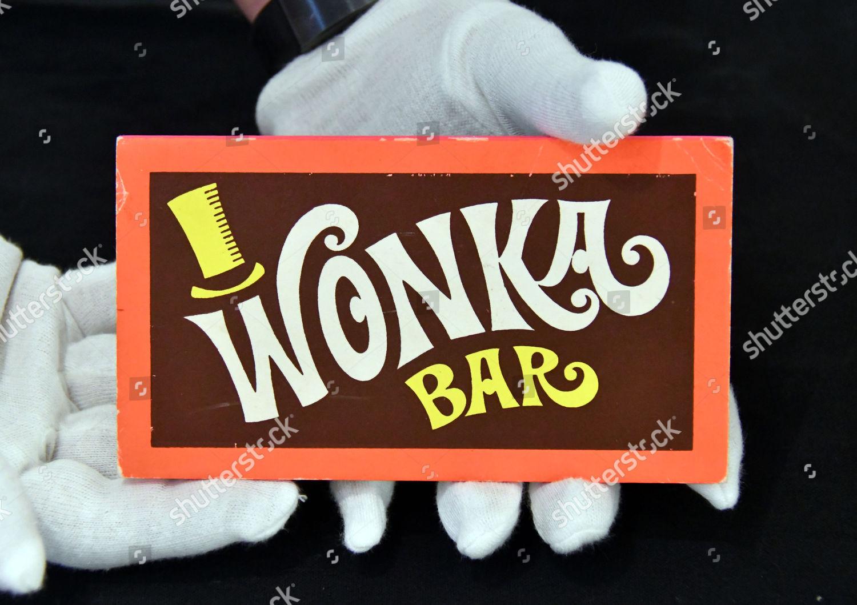 Wonka Bar Willy Wonka Chocolate Factory 1997 Editorial Stock