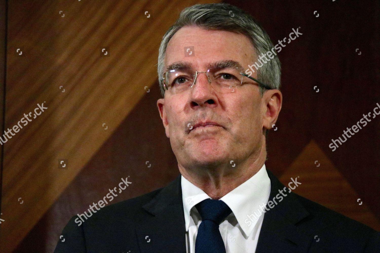 Australian Shadow AttorneyGeneral Mark Dreyfus speaks media