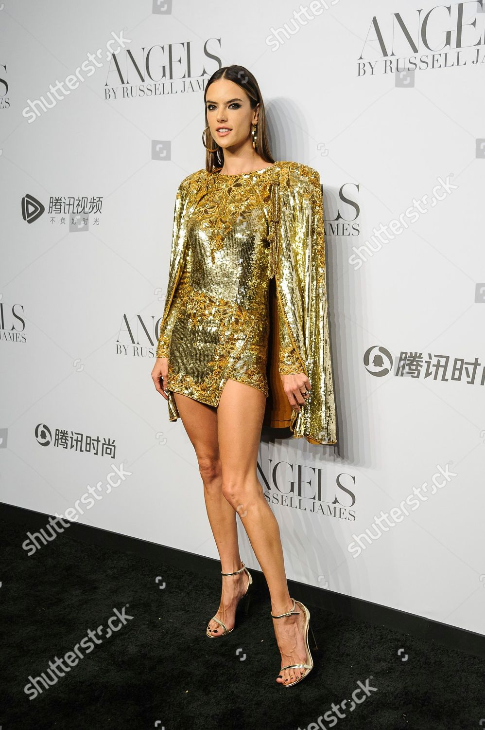 51b5accf3c428 Alessandra Ambrosio attends Angels by Russell James Editorial Stock ...