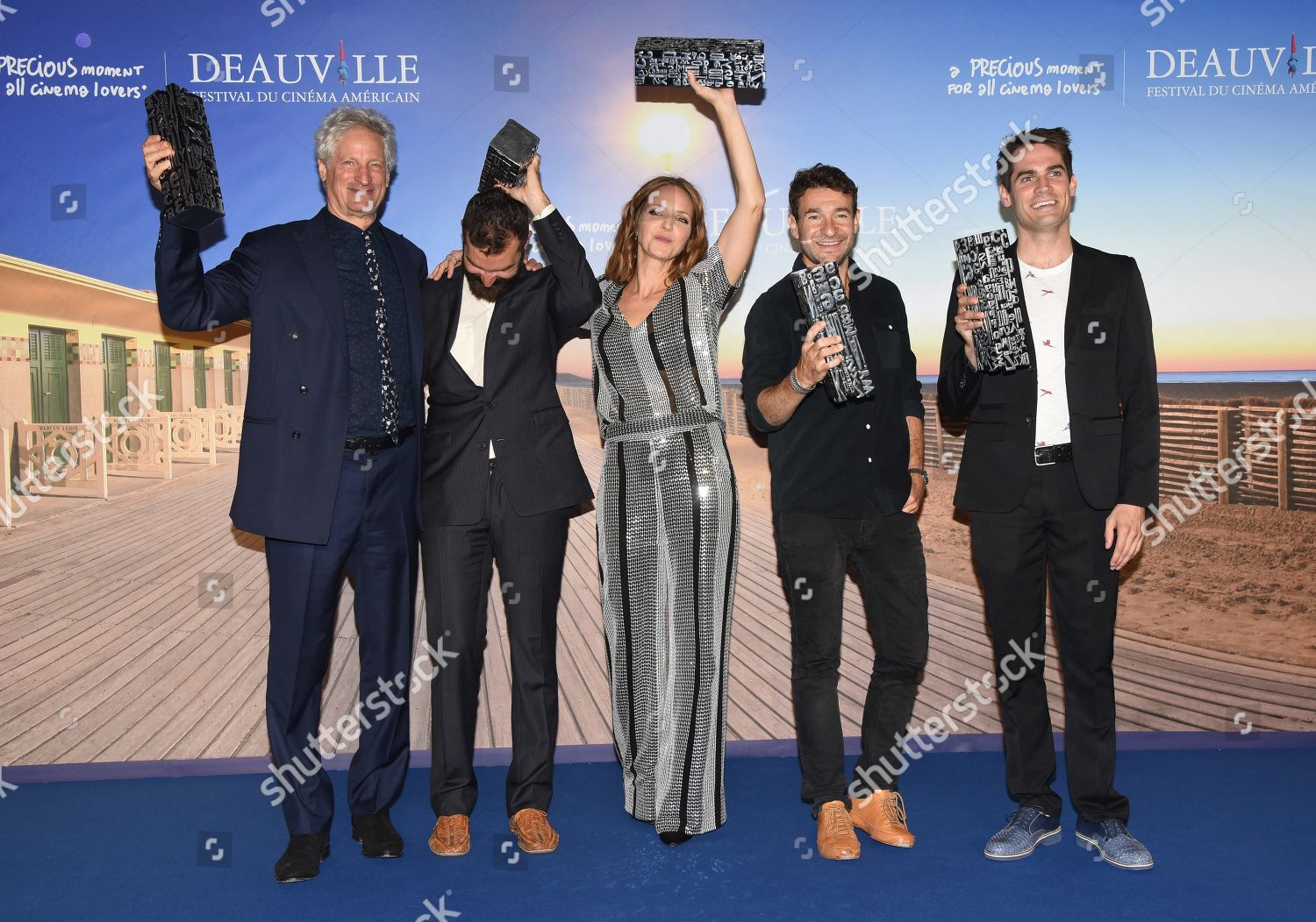Stock photo of Award Winners photocall, 44th Deauville American Film Festival, France - 08 Sep 2018