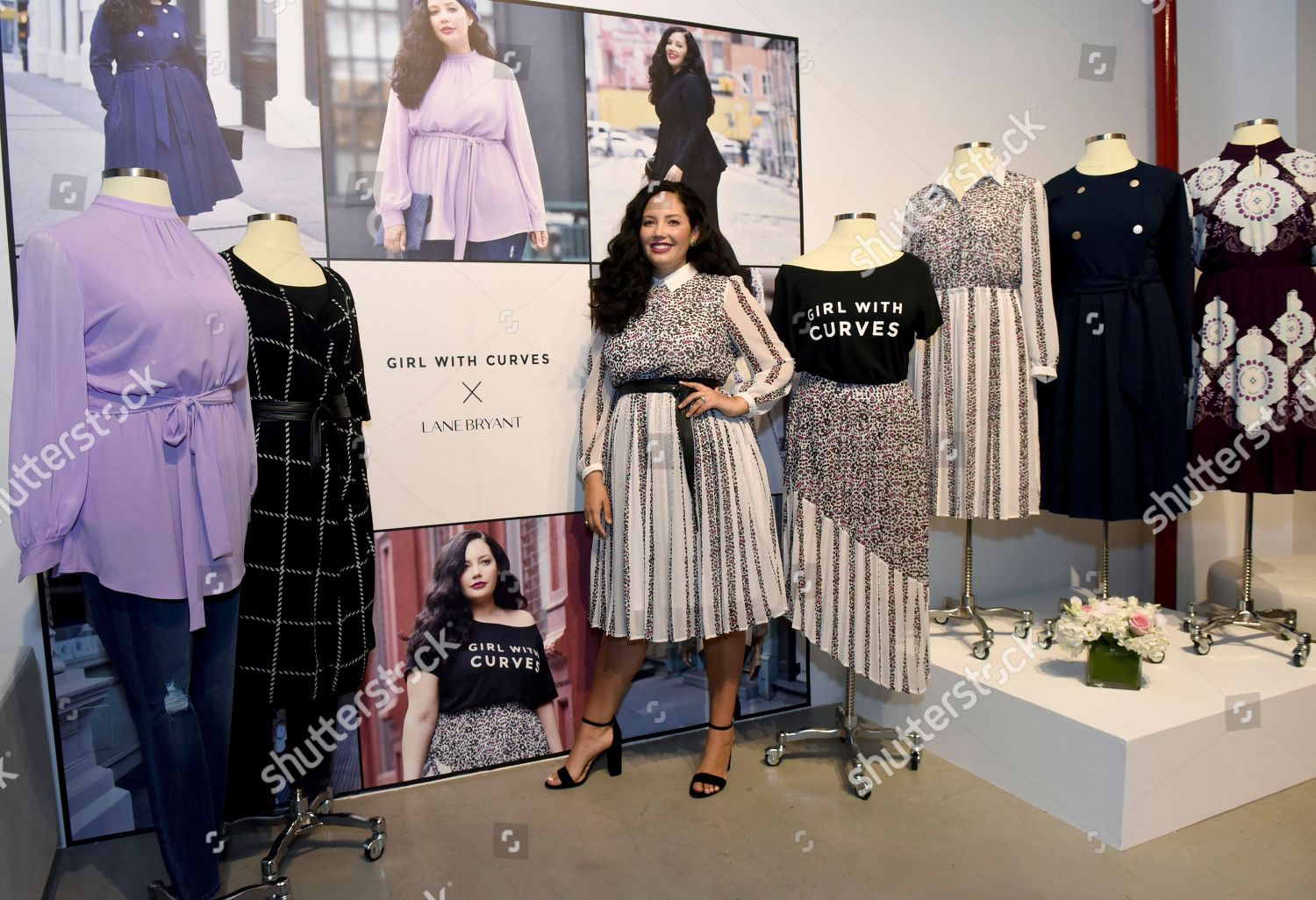 Curves new york Motorcycle Girl With Curves Lane Bryant Popup Shop New York Usa New York Company Influencer Tanesha Awasthi Girl Curves Celebrates Debut Editorial