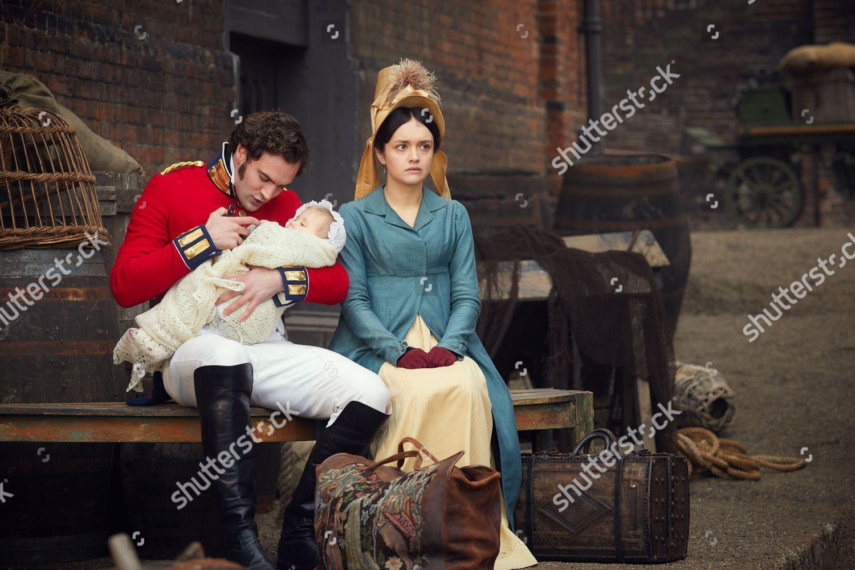 Olivia Cooke Becky Sharp Tom Bateman Rawdon Foto Editorial Imagem De Banco Shutterstock