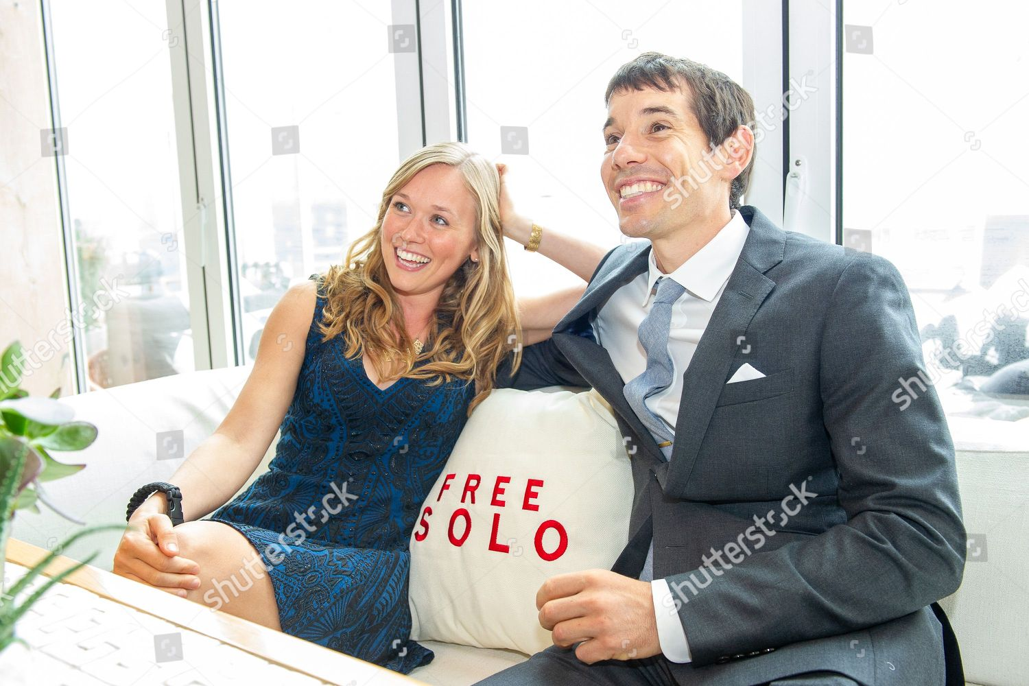 Editorial Stock Photo Of Alex Honnold Sanni Mccandless 9878481j