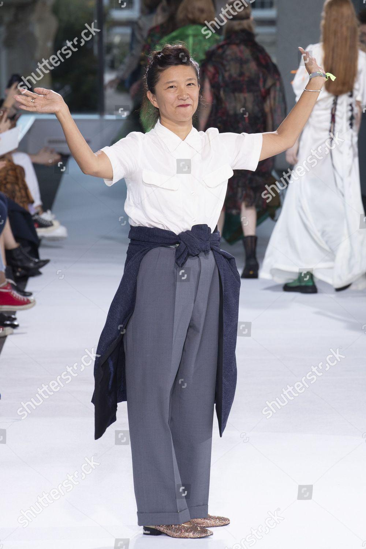 4a8d3c8f8a6 Yasuko Furuta on catwalk Editorial Stock Photo - Stock Image ...