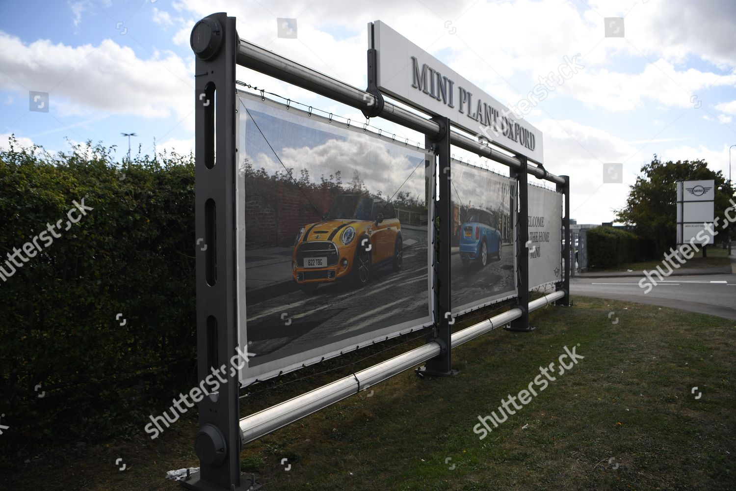 View Signs Outside Bmw Mini Factory Cowley Editorial Stock Photo