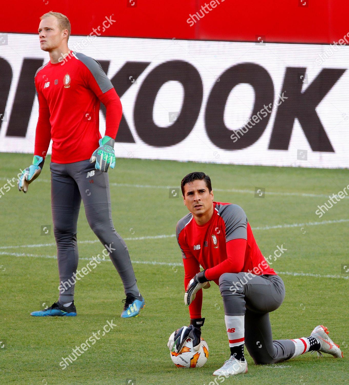 Standard Lieges Goalkeepers Arnaud Bodart L Guillermo Editorial Stock Photo Stock Image Shutterstock