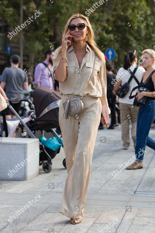 Street Style Editorial Stock Photo - Stock Image ...