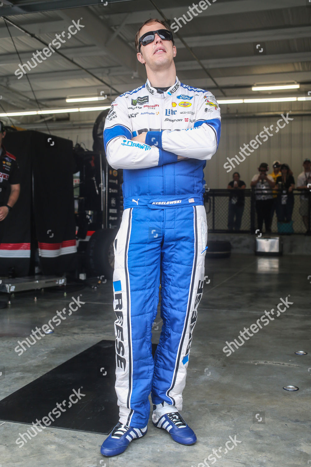 Monster Energy NASCAR Cup Series driver Brad Editorial Stock
