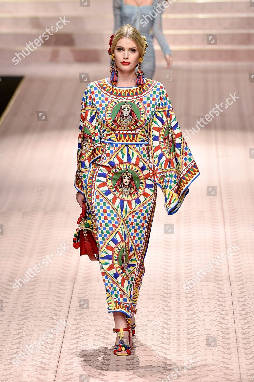 98d53508 Dolce & Gabbana show, Runway, Spring Summer 2019, Milan Fashion Week, Italy  Stock Image by SGPITALIA for editorial use, Sep 23, 2018